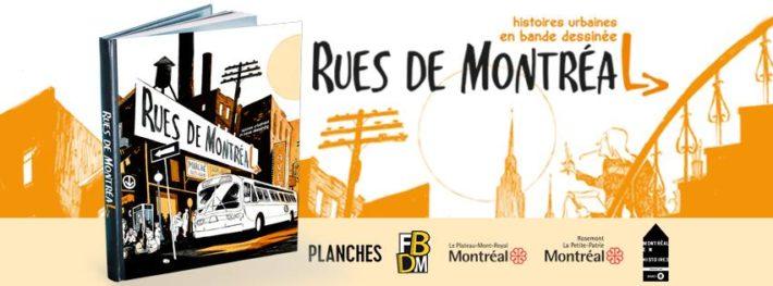 Le livre Rues de Montréal paraîtra bientôt !