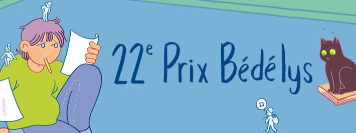 22e PRIX BÉDÉLYS – DÉVOILEMENT DES FINALISTES