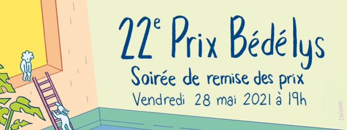 ANNONCES DES GAGNANTES DES 22e PRIX BÉDÉLYS