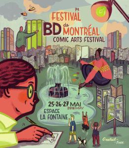 Résultats de recherche d'images pour «festival bd de montréal 2018»