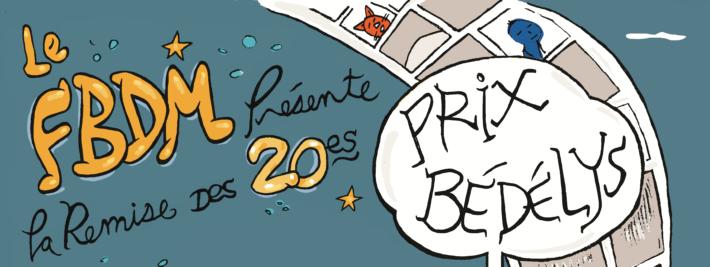 Dévoilement des finalistes de la 20e édition des prix Bédélys