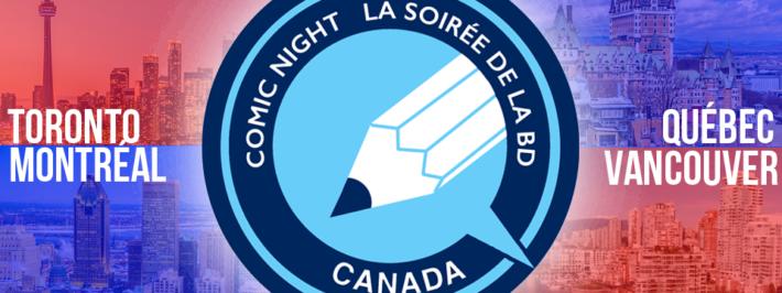 Comic Night In Canada / La soirée de la BD